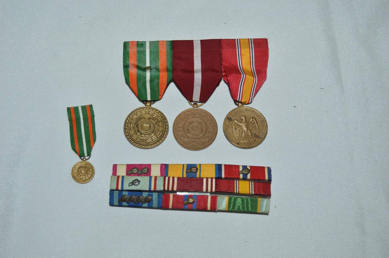Lot # 93 Military medals and memorabilia (main image)