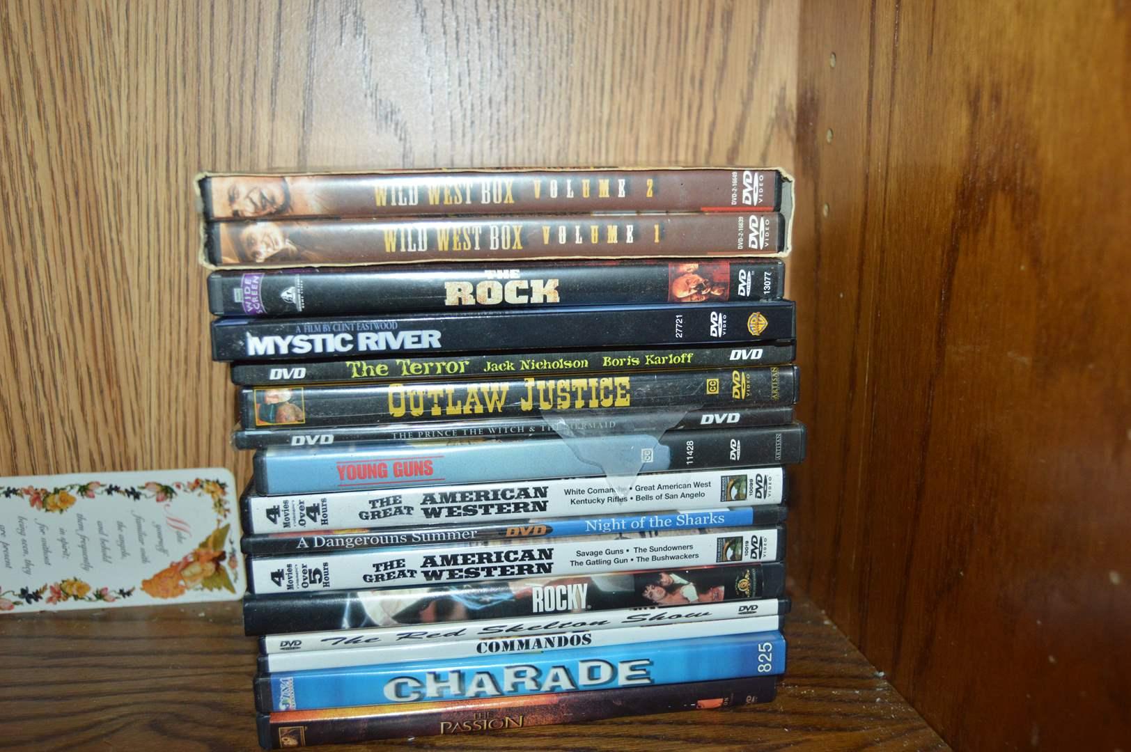 Lot # 134 16 DVD'S (main image)