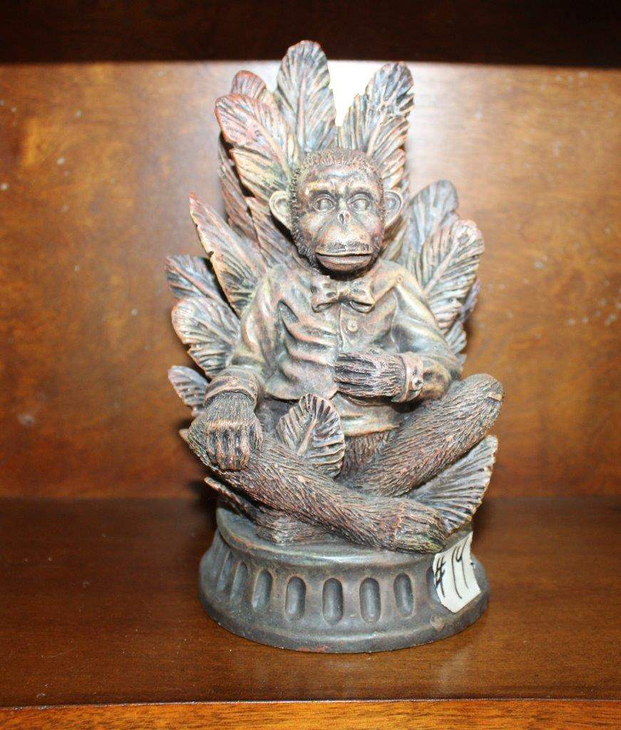 Lot#14 Resin Tropical Monkey Figurine  (main image)