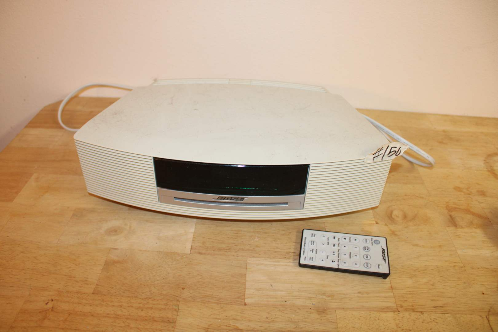 Lot#150 Bose Wave CD Player w/ Remote  (main image)