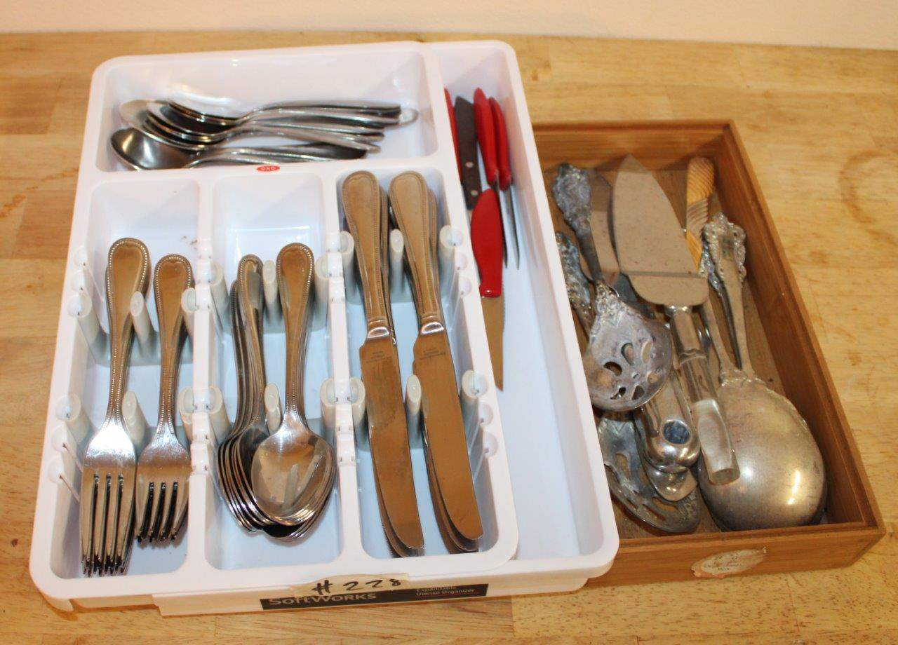 Lot#228 Assorted Flatware  (main image)