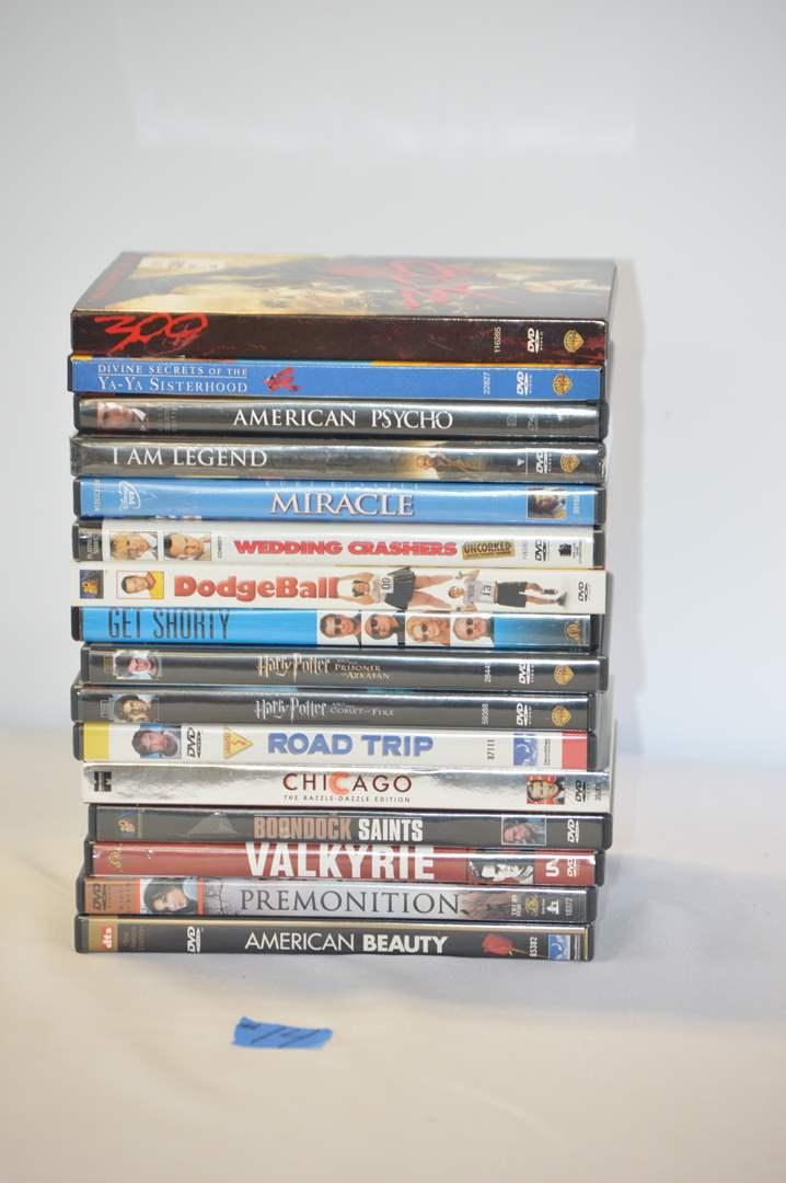 Lot # 14 16 DVD'S (main image)