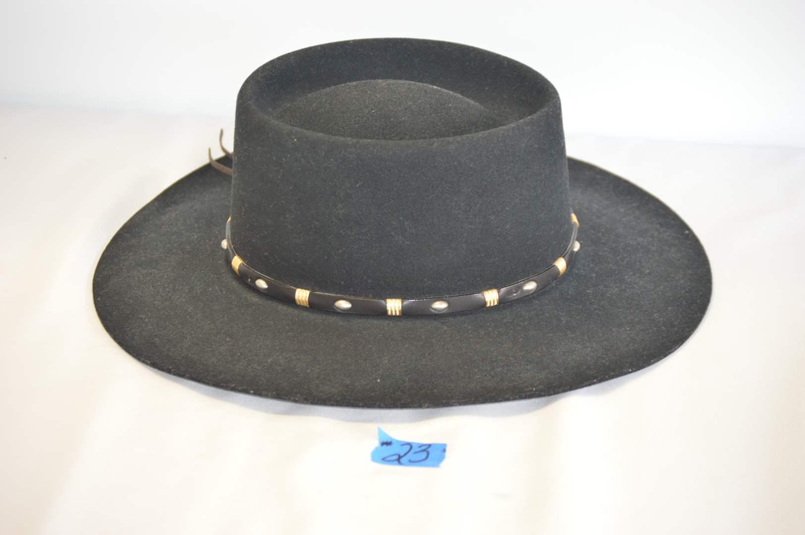 Lot # 23 Renegade XX Fur Blend cowboy hat - Size 6 7/8 (main image)