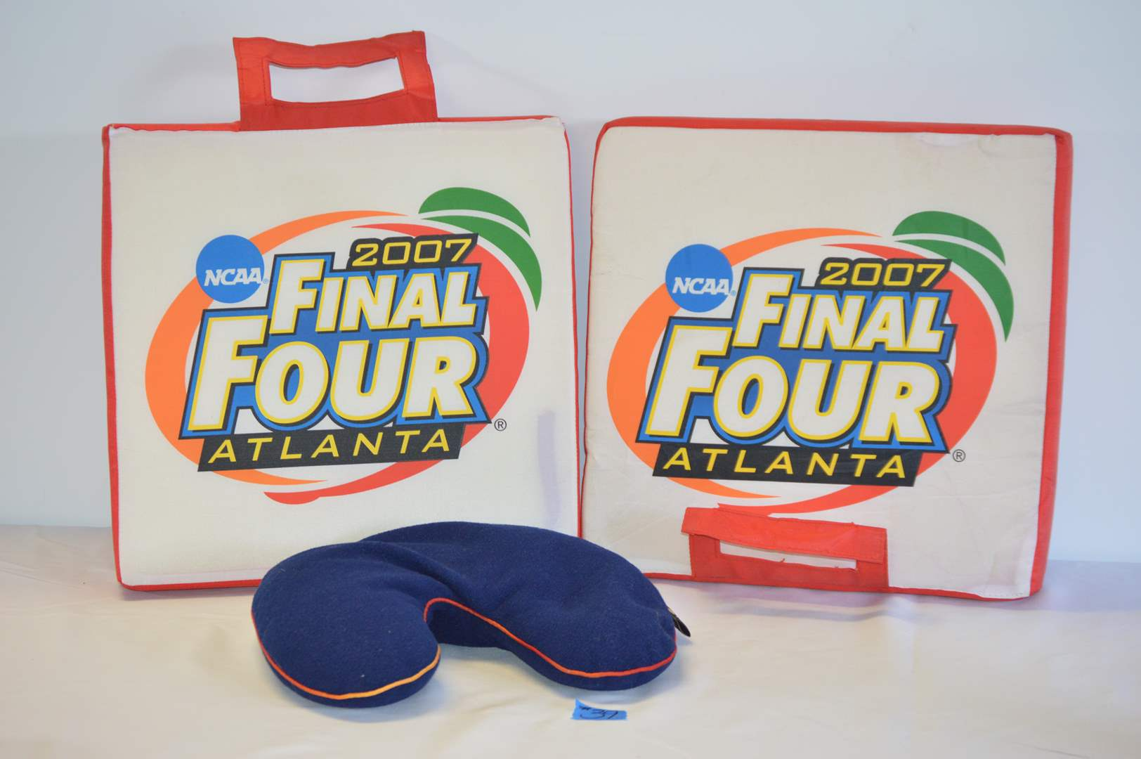 Lot # 39 Florida Gators Final Four bench cushions & Bucky neck pillow (main image)