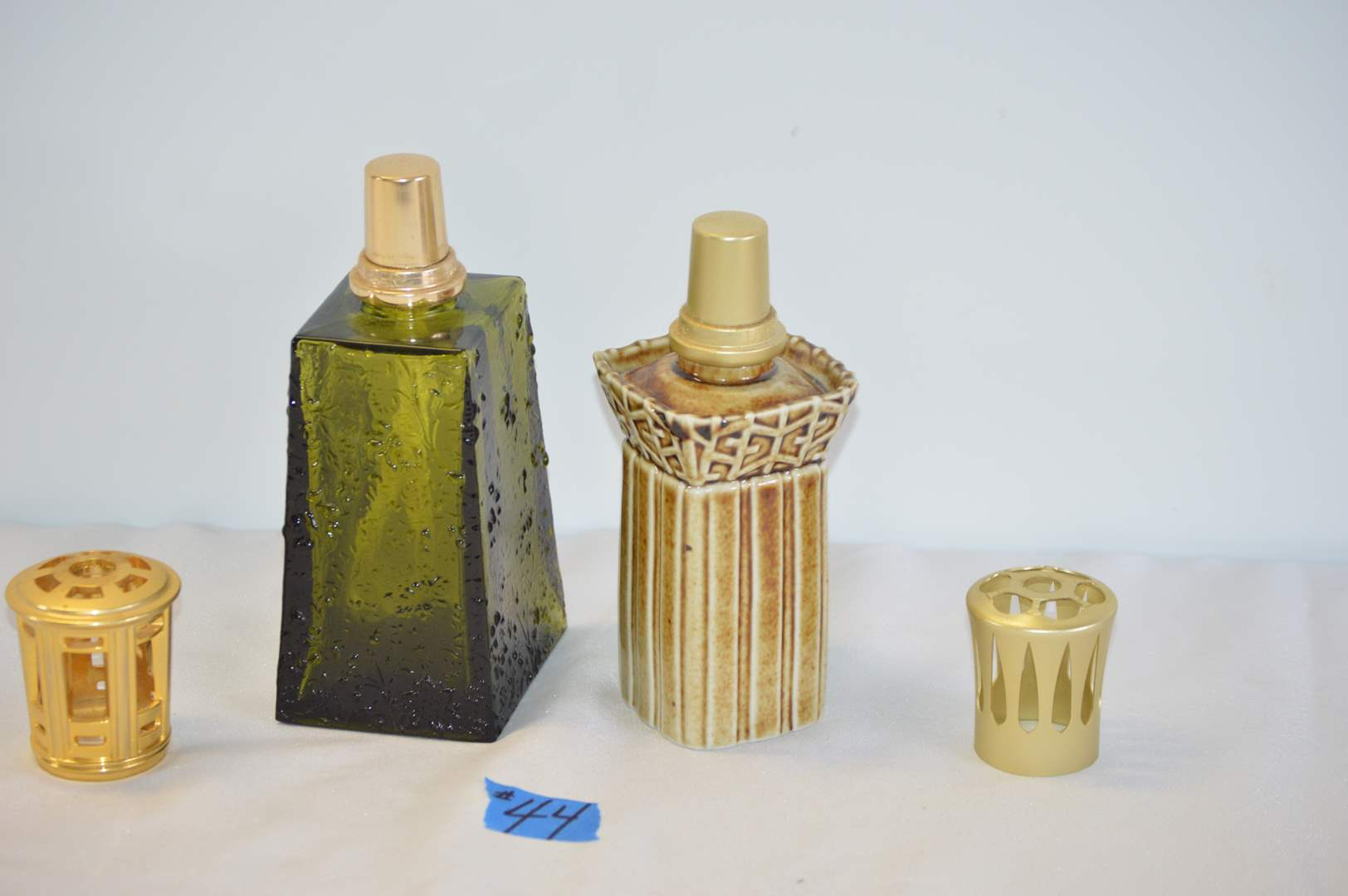 Lot # 44 2 Lampe Berger oil lamps - Made in France (main image)