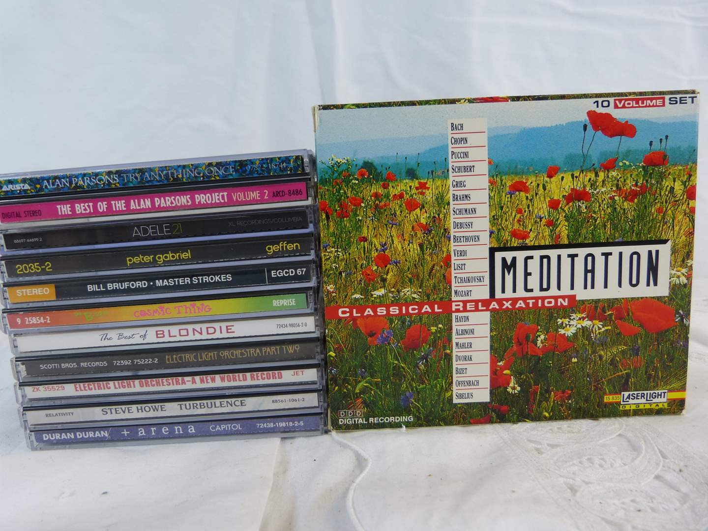 Lot # 10 Nice group of CD's to include set of Meditation CD's (main image)