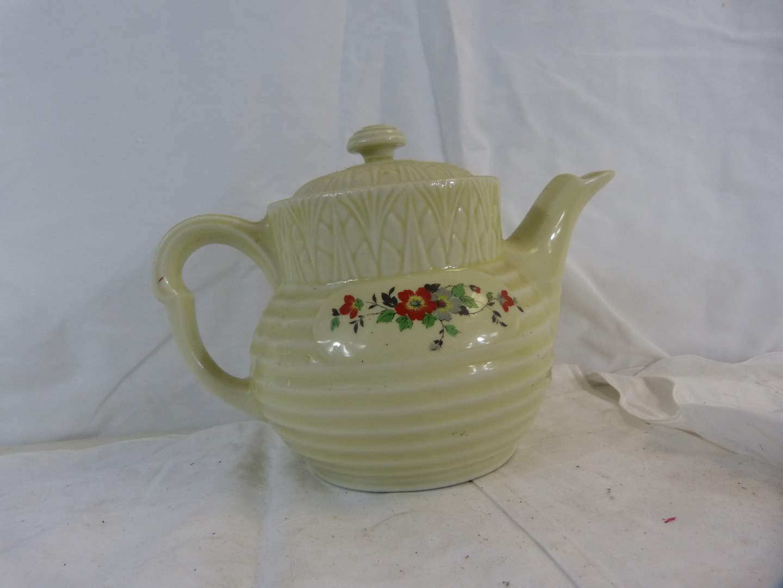 Lot # 212 Great vintage coffee pot flowers (Drip-Olator) Enterprise Aluminum (main image)