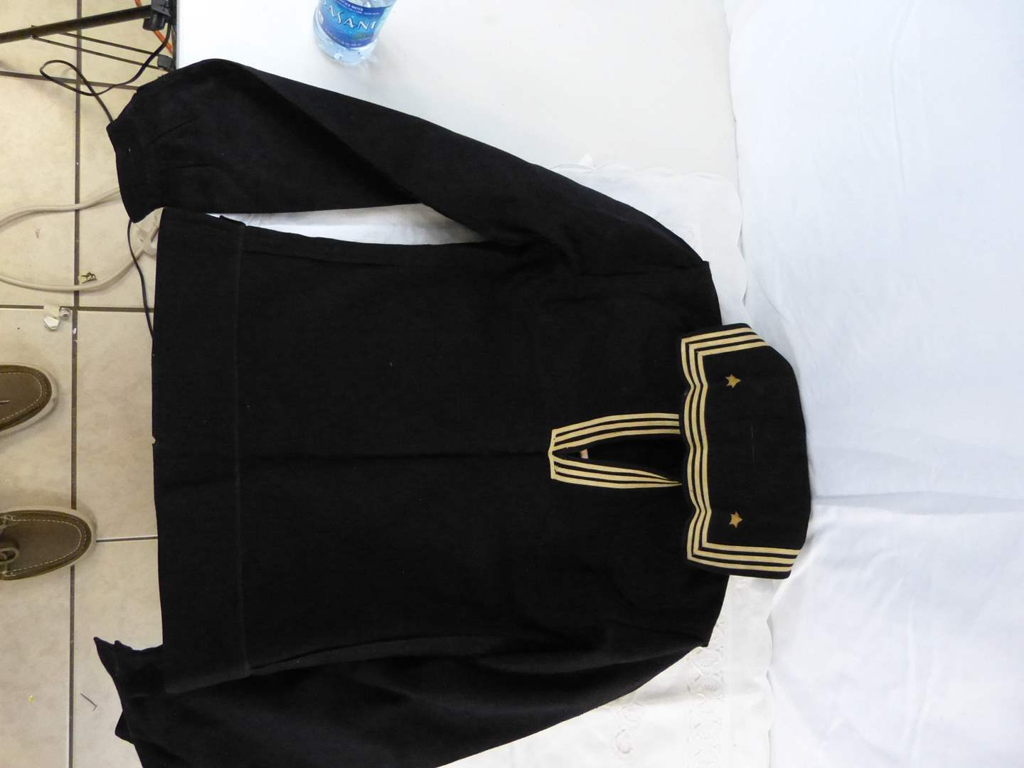 Lot # 249 Military Navy WWII coat (main image)