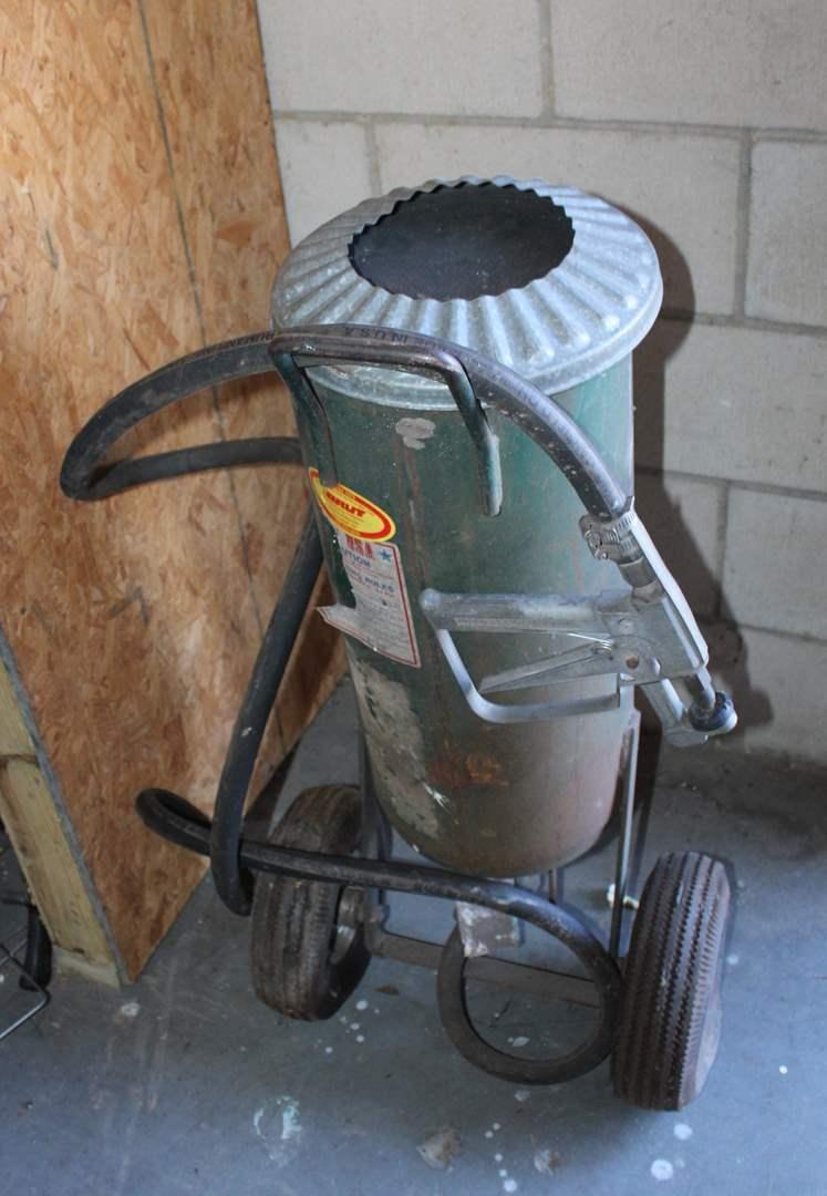 Lot#24 Brut Abrasive Sand Blaster  (main image)