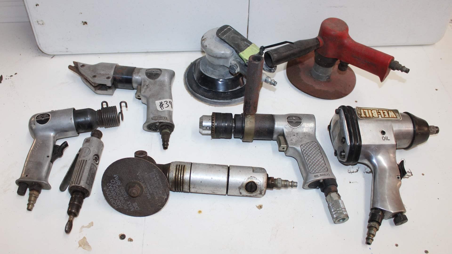 Lot#39 Air Tools  (main image)