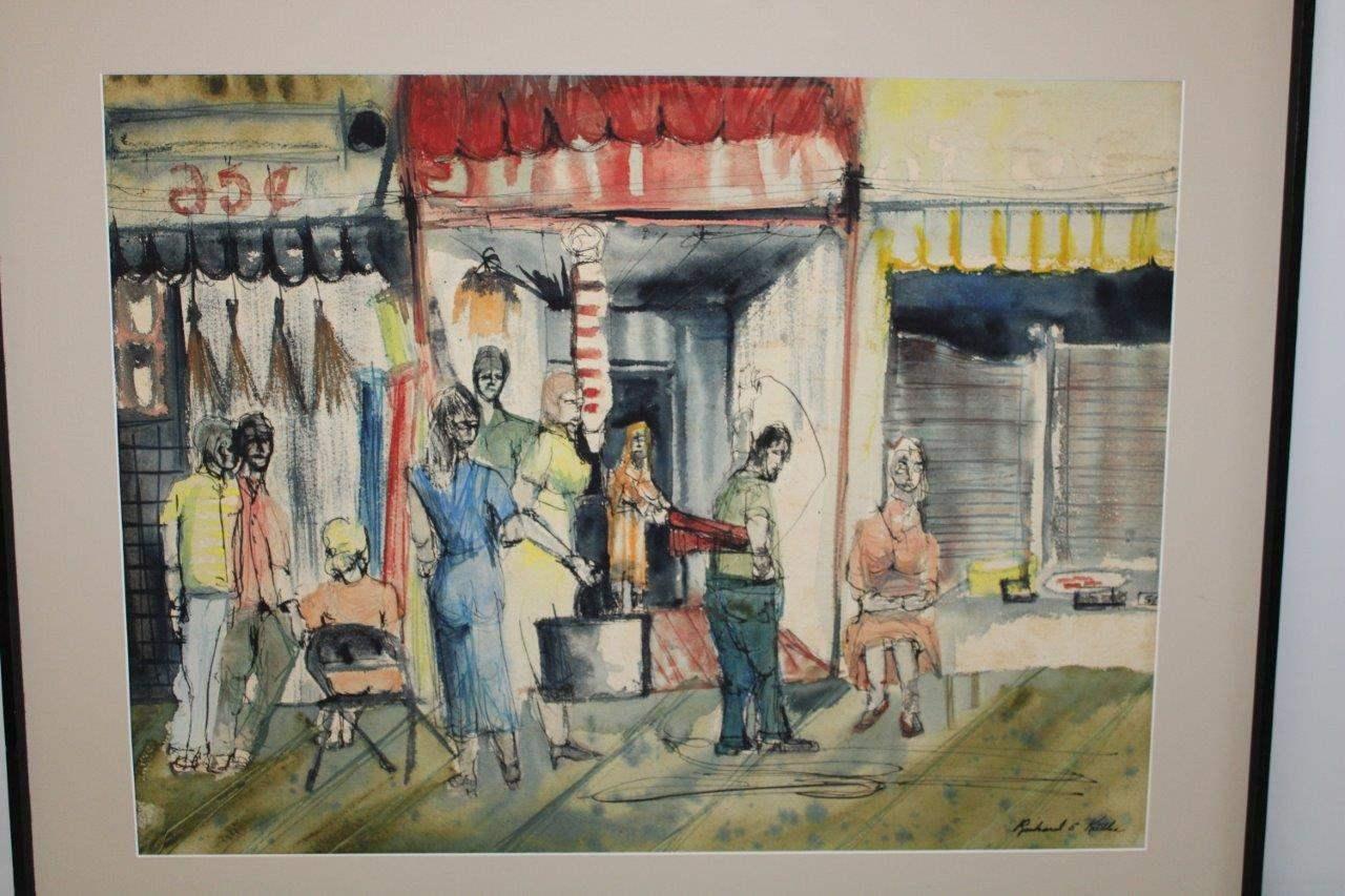 "Lot#67 Painting Signed Richard E. Kiibler 36"" x 29.5""h (main image)"
